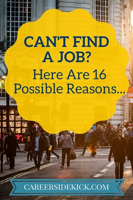 16 reasons why you can't find a job