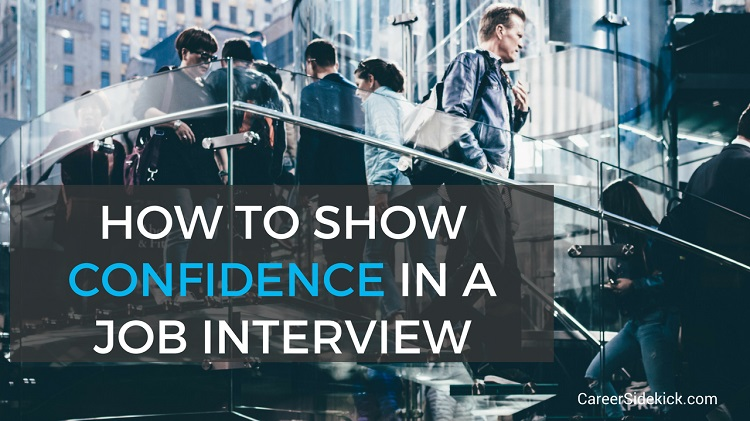 show confidence interview